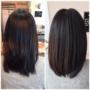 ・固い髪質の方が柔らかく扱いやすい髪へ