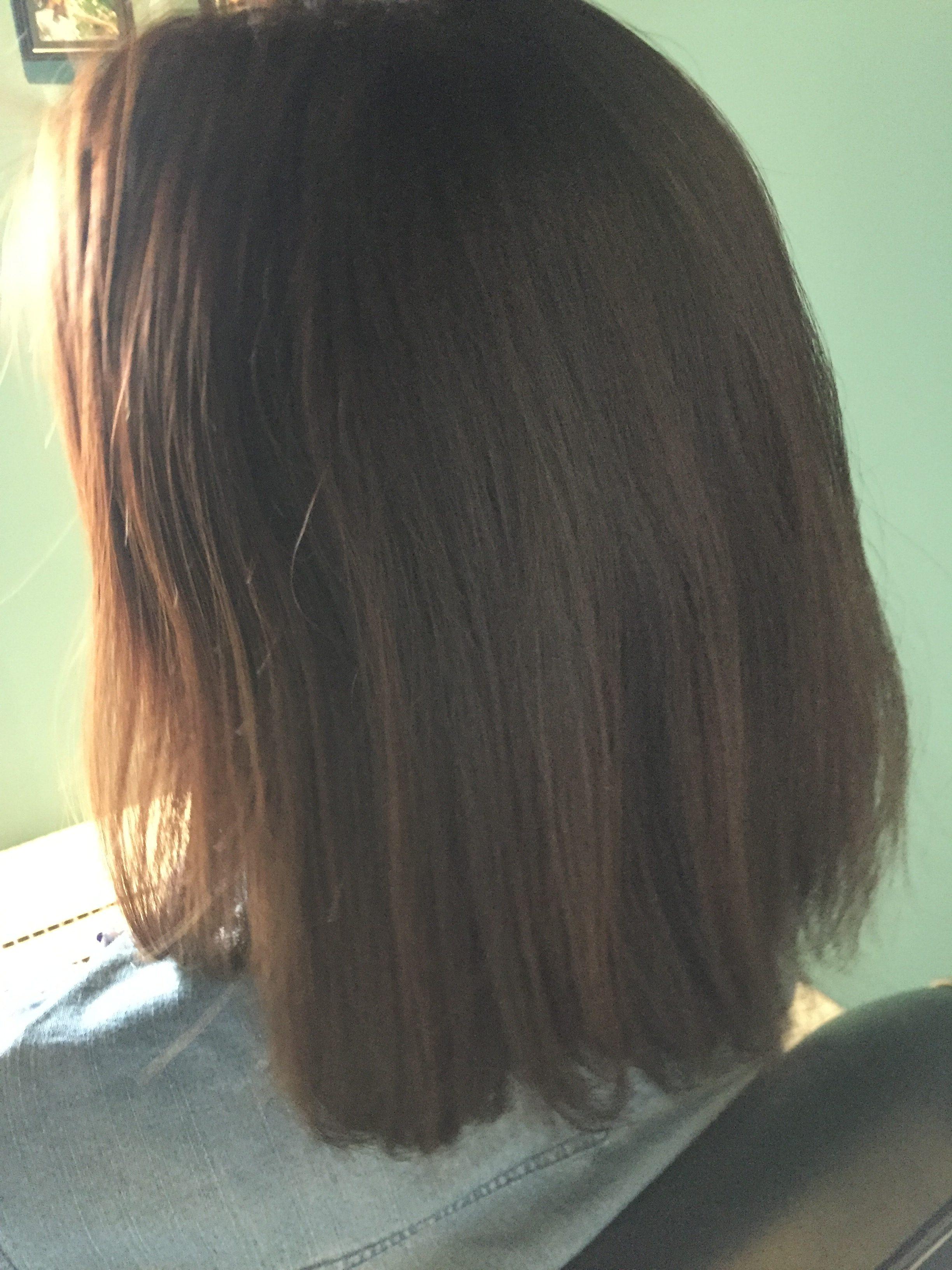 髪質改善パーマ ビフォー