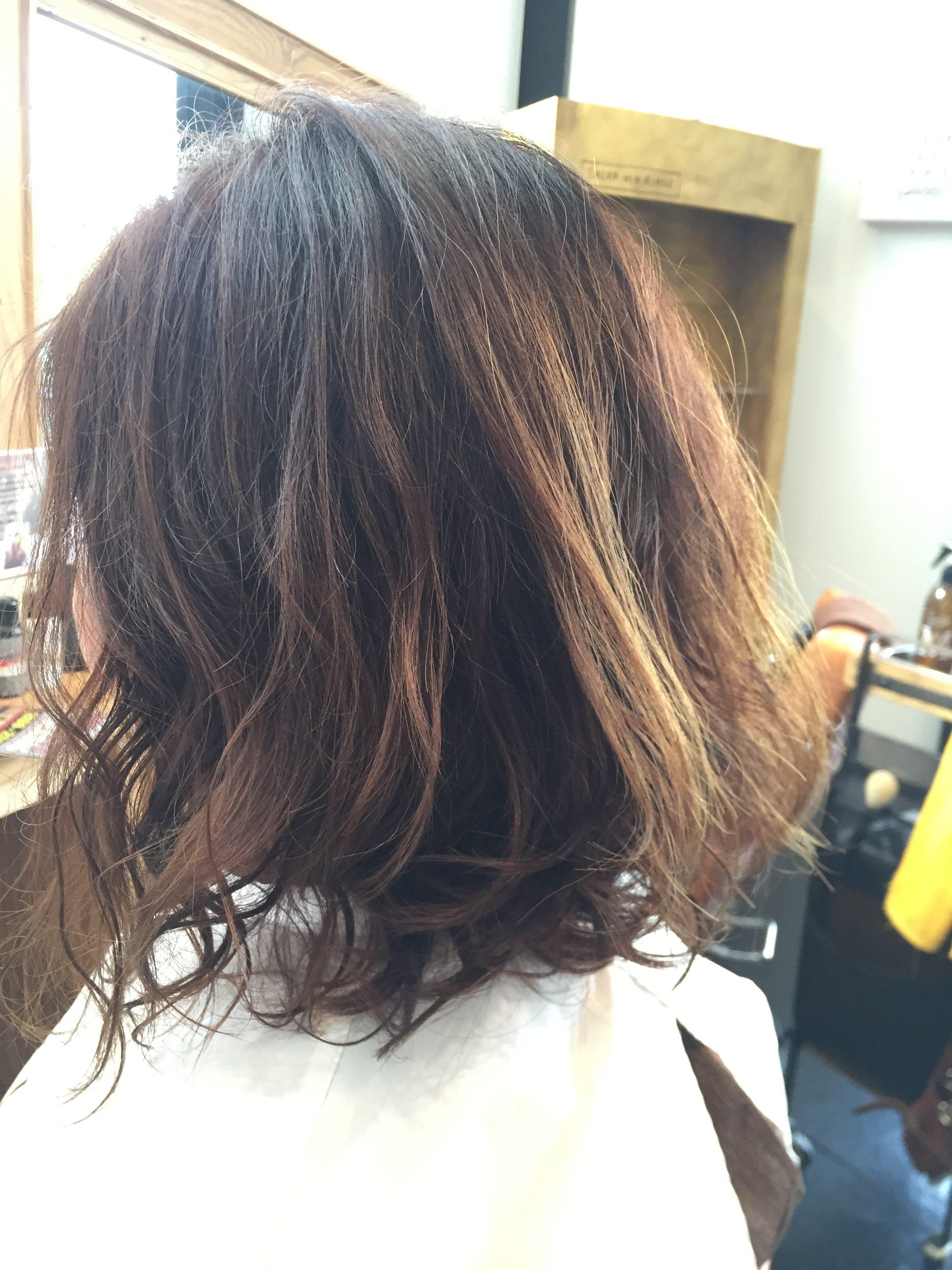 髪質改善パーマ