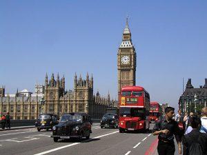 海外研修で行った懐かしのロンドン