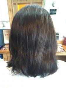 髪質改善カラー前
