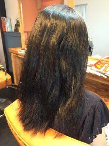 産後のママさんの髪の毛