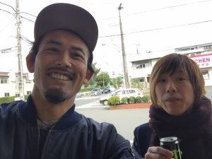右が店長 髙橋です。