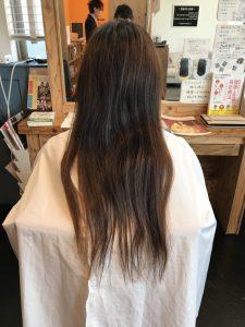 年齢による髪の変化に対応仕切れていないお客様。