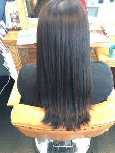 髪質改善カラーアフター
