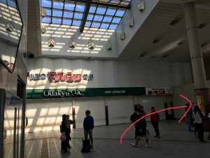 小田急線渋沢駅