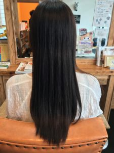 髪質改善 ビフォー