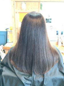 髪質改善 カラー アフター