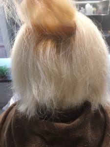 ブリーチに縮毛矯正 サロンドエメ