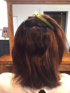 髪の悩み くせ毛
