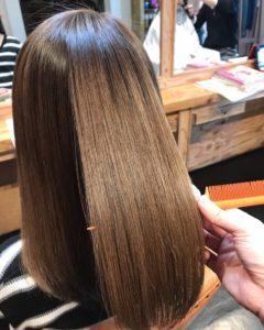 神奈川 秦野のサロンドエメの髪質改善縮毛矯正