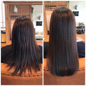 髪質改善でツヤ髪に