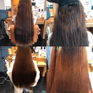 ロングヘアのダメージ毛でも綺麗にするサロンドエメの縮毛矯正