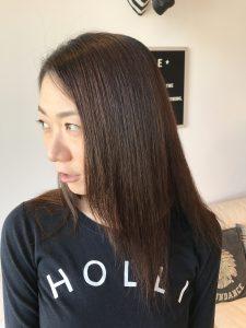 縮毛矯正でとっても素敵な女性に変身出来ました