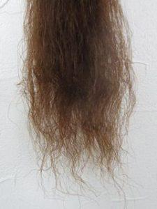 ビビリ毛は直るの?