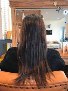マツコ会議で注目の髪質改善が得意な美容室サロンドエメの髪質改善施術前 外国人風カラー ビフォー
