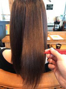 デジタルパーマで傷んでしまった髪がこんなにツヤのある綺麗な髪になりました!