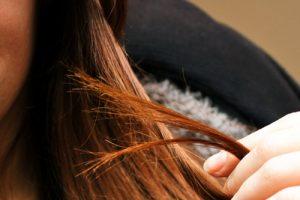 毛先の切れ毛