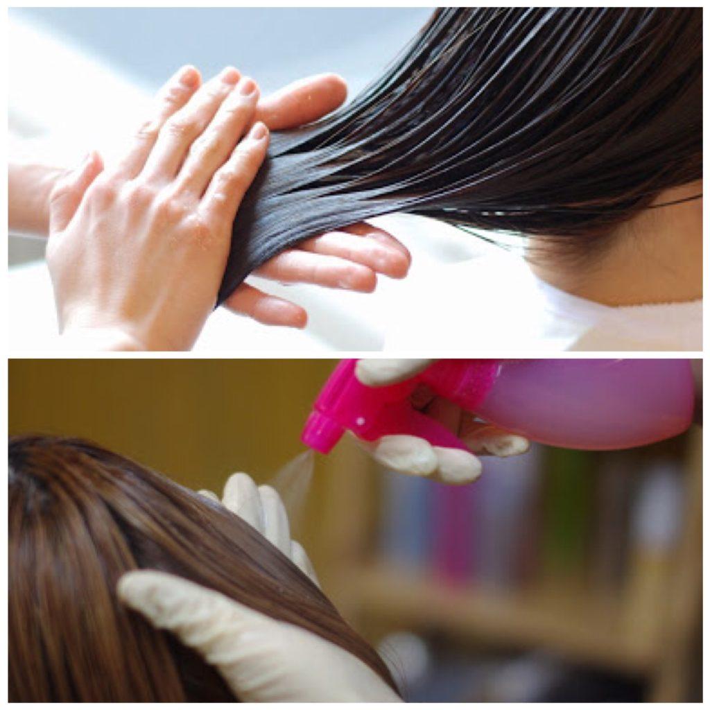 秦野でお客様の髪質に合わせてた髪質改善ヘアエステをする美容室 サロンドエメ