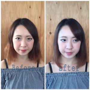 広がる髪も縮毛矯正でまとまりがよくなります