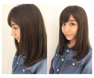田中みな実さんのような王道女子アナストレートヘアが20代男子には人気