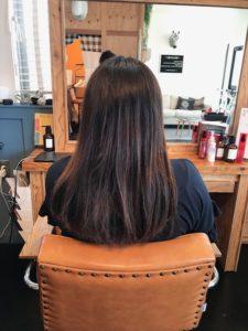 秦野美容室 サロンドエメ 縮毛矯正をする前の状態