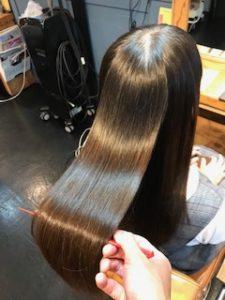 秦野SALON DE AIMER美容室の髪質改善縮毛矯正